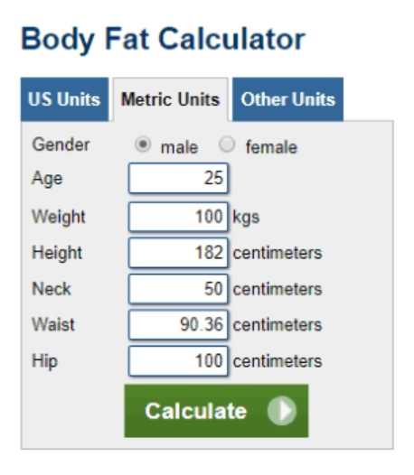 Worksheets Army Body Fat Worksheet free body fat calculator template calculator