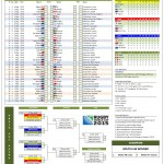 2015 Rugby World Cup Fixtures and Scoresheet