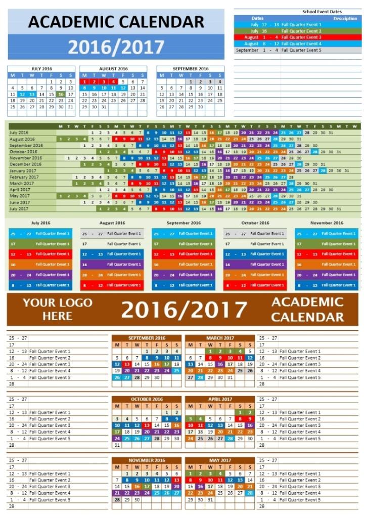 2016/2017 School Calendars