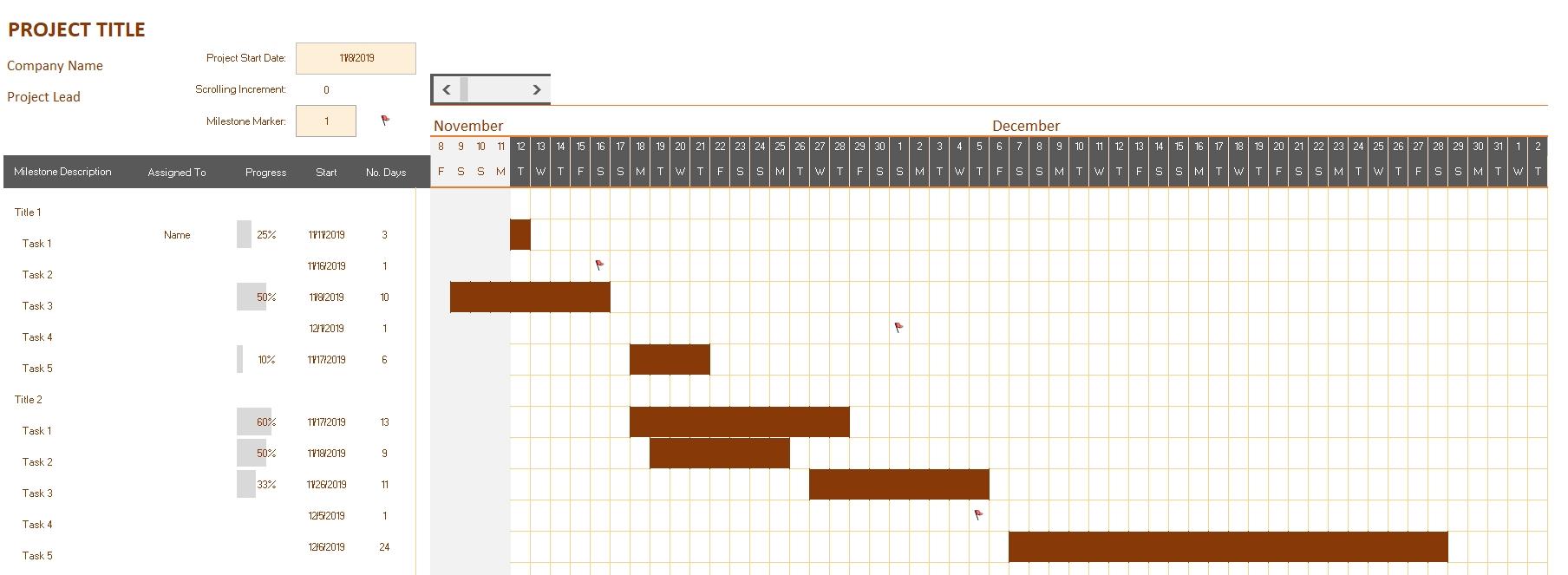 Gantt Chart » OFFICETEMPLATES.NET