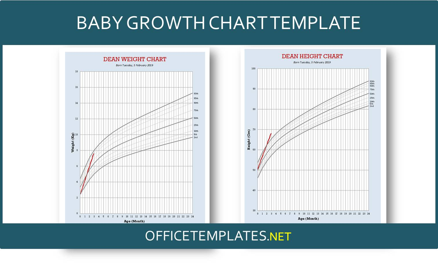 Free Baby Growth Chart Template