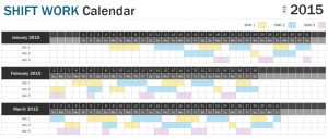 Shift Schedule Planner