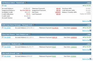 Monthly Bill Payment Planner Template